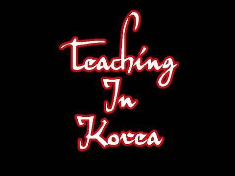 Teaching in Korea: Slang