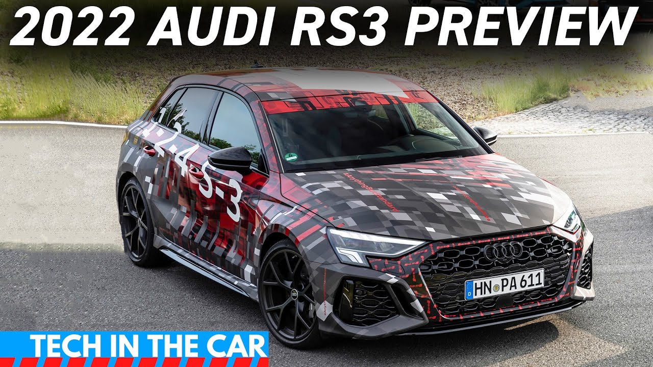 First Look! 2022 Audi RS3 PREVIEW!