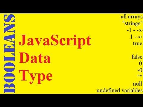 JavaScript Booleans