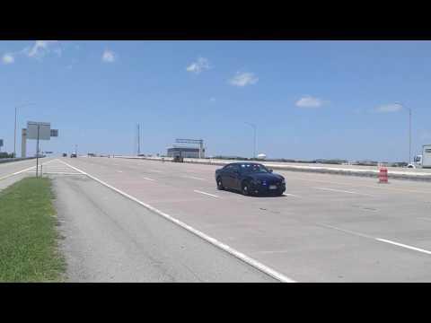 Dallas Police funeral procession 7-13-16 video 2
