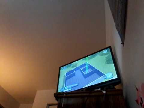 Sims3 xbox360 how to build one bedroom house eps1