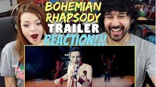 BOHEMIAN RHAPSODY   Official TRAILER - REACTION!!!