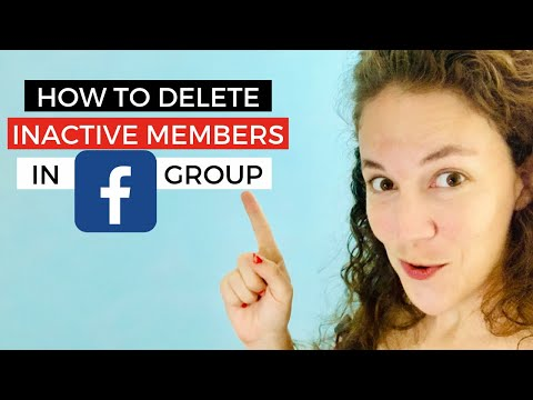 Facebook Group HACK!! Get rid of Inactive People.  Here's how!