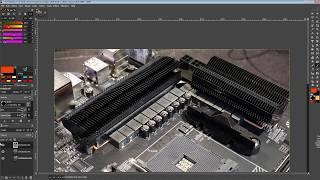 mobo PCB Breakdown Gigabyte B550 Aorus Master