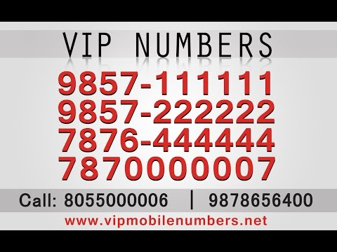 Get Fancy Mobile Number India / Fancy Mobile