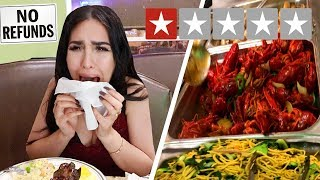 EATING at the WORST REVIEWED BUFFET in MY CITY (1 STAR)