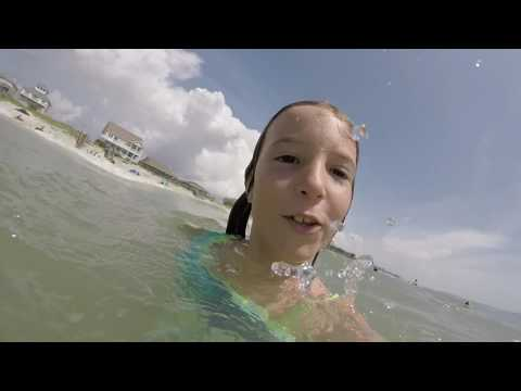 Bodysurfing With The Kids