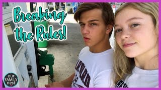We Broke our own Rules! Parenting Fail!