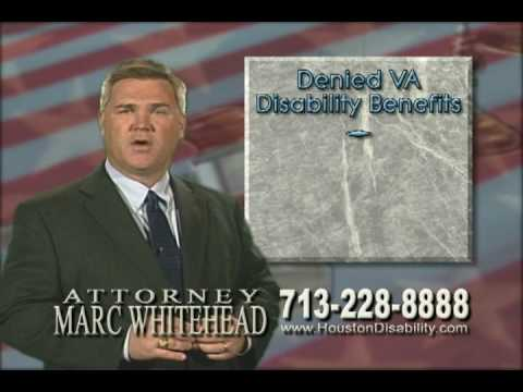 Assistance for Veterans Denied Disability Benefits - Marc Whitehead Attorney