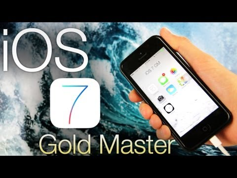 NEW Install iOS 7 GM Early FREE How To Gold Master Without UDID iPhone 5,4S iPad & iPod Touch