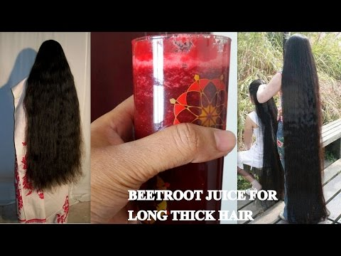 BEETROOT JUICE FOR LONG THICK HAIR How to increase hair growth naturally INDIAN HAIR GROWTH SECRETS