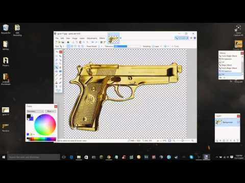 How To Make ANY Image a Transparent Background w/ Paint.net