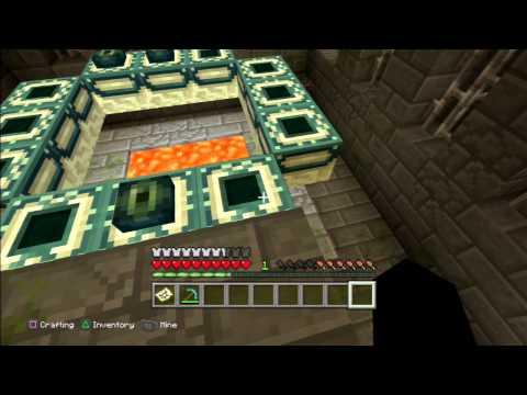 Minecraft Ender Portal Location Tutorial World PS3/PS4/PS Vita