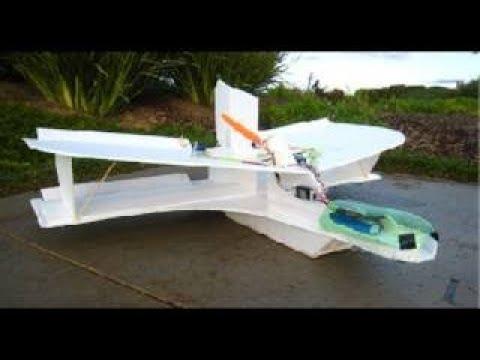MikeysRC Scratch Built Slow Flying FPV RC plane Build Tips