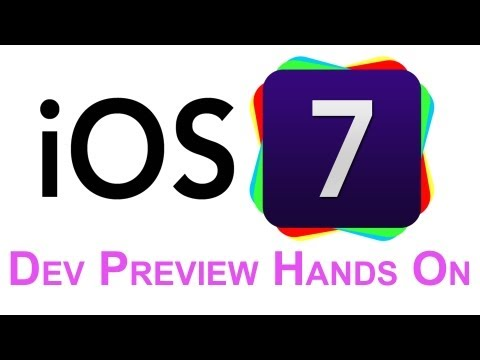 First Look: iOS 7 Developer Preview