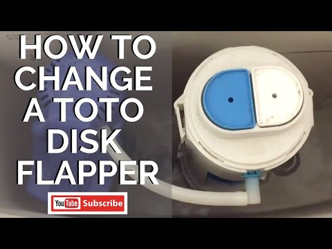 How to Change a Toto Disk Flapper