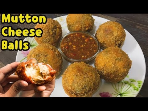 Mutton Cheese Balls By Yasmin's Cooking (iftar Recipe)