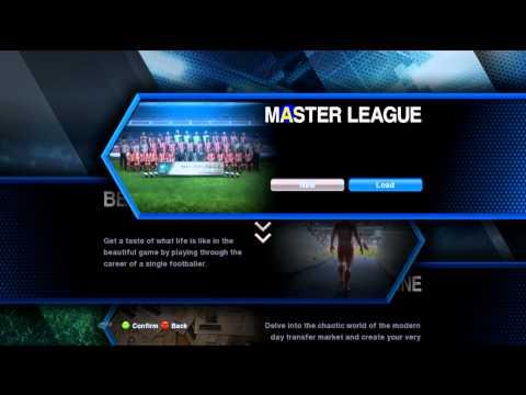 PES 2013 - Unlock third item in master league
