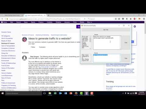 Make money with Yahoo Answers   Hot Answer Spy   The Yahoo Answers Promoter