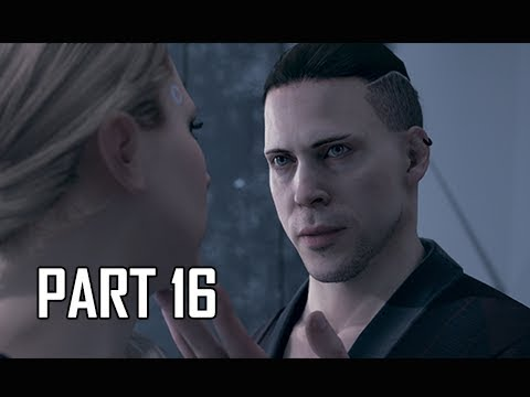 DETROIT BECOME HUMAN Gameplay Walkthrough Part 16 - INVENTOR (PS4 Pro 4K Let's Play)