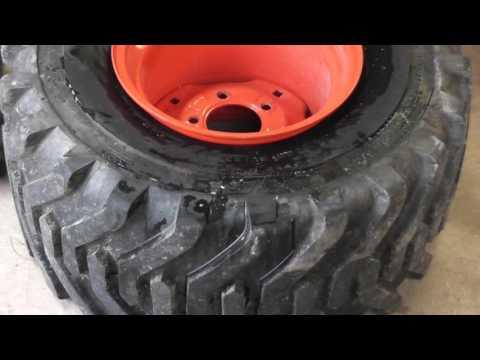Kubota BX25 - Tractor Valve Stem Replacement