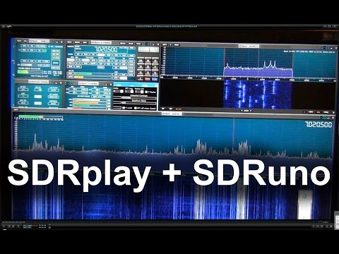 SDRplay with SDRuno Using to characterize RF HF filters
