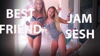BEACH VACATION WITH MY BEST FRIEND// JAM & DANCE SESSION