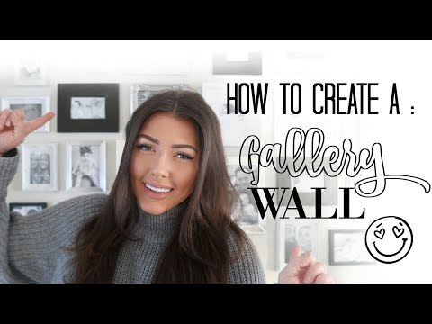 HOW TO CREATE A GALLERY WALL | 25% OFF DESENIO DISCOUNT CODE | INTERIOR UPDATE | AD