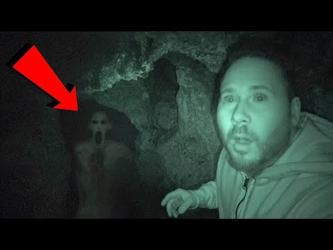 LIGHTS OUT CHALLENGE IN HAUNTED CAVE (EDGE OF YOUR SEAT SCARY!) | OmarGoshTV