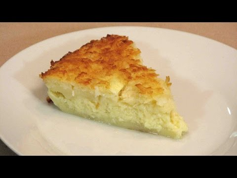 Impossible Coconut Custard Pie – Lynn's Recipes