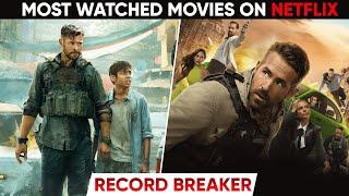 TOP: 10 MOST Watched Movies on Netflix | Official list Netflix Originals | Moviesbolt