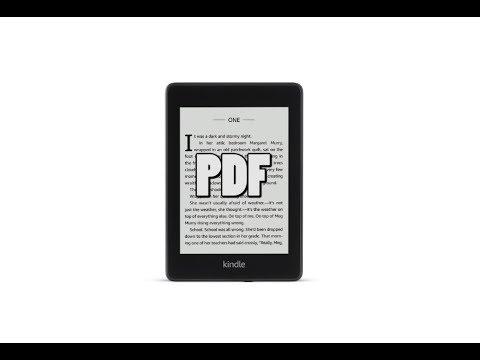 Amazon Kindle Paperwhite 4 PDF Experience