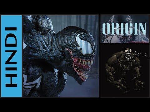 Origin : Venom | Who Is Venom | Explained In HINDI | Supervillain Origin