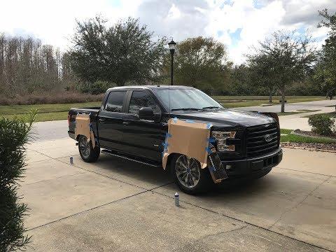 2017 F150 Plasti Dip Wheels