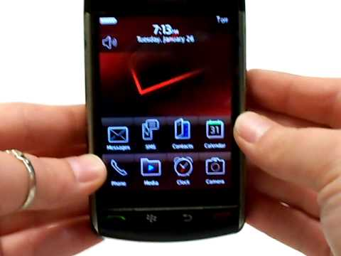 Blackberry Storm 9530 Erase Cell Phone Info - Delete Data - Master Clear Hard Reset