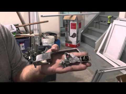 Scrap Tips # 4 - Aluminum Screen door break down