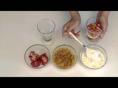 How to Make Yoghurt Parfait - Simple & Quick recipe