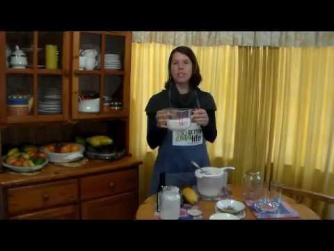 How to make kefir yoghurt at home