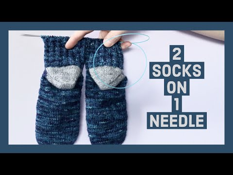 HOW TO KNIT SOCKS TWO AT A TIME