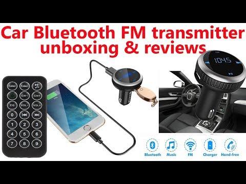Hindi || Car Bluetooth FM transmitter unboxing & reviews