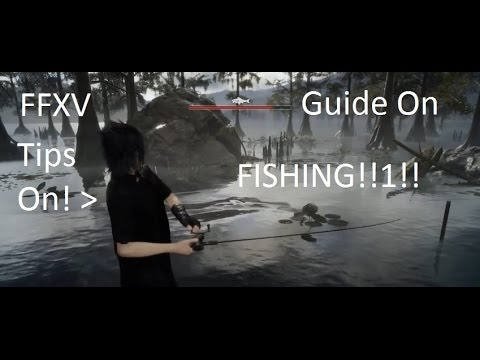 Final fantasy 15 Quick tips on how to fish!!!!