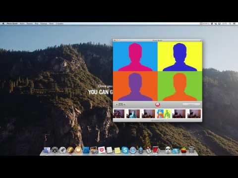 3 new Photo booth effects in OS X Mavericks
