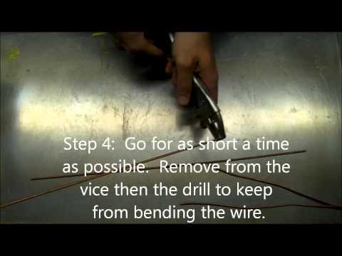 Straighten Copper Wire or Aluminum Wire