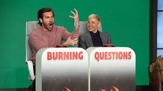 Jake Gyllenhaal Answers Ellen's 'Burning Questions'