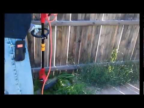 Homelite electric string trimmer review Model UT41110