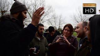 P2 - Fairies? Muhammad Hijab vs Atheist l Speakers Corner l Hyde Park