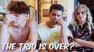 The Trio Is Over?