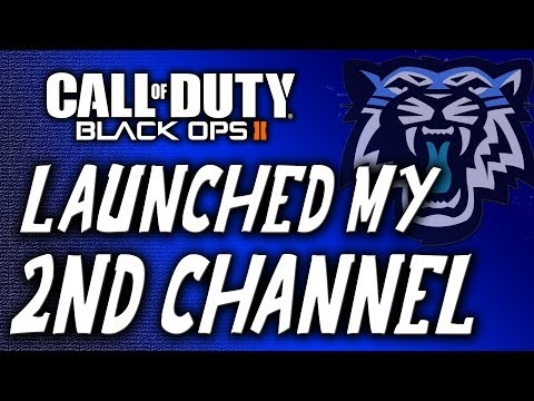 I Just Launched My 2nd Channel! (CoD BO2 AN-94 Gameplay)