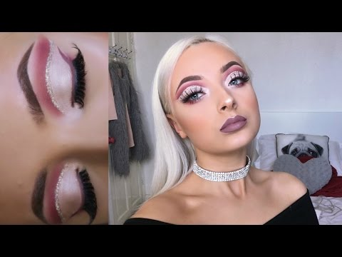 CHATTY GRWM - FULL COVERAGE & GLAM CUT CREASE MAKEUP