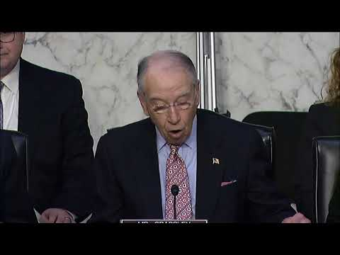 Grassley: We Must Hold Government Accountable for Failures Before Parkland Tragedy